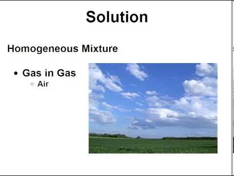 Introduction to SOLUTIONS, SOLUTE, SOLVENT - Clear & Simple