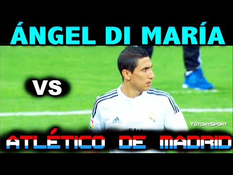 Angel DI MARIA vs ATLETICO de MADRID HOME SPANISH SUPERCUP 2014 ( 19/08/2014 - 19.08.2014 ) [HD]
