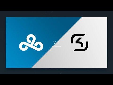 CS:GO - Cloud9 vs. SK [Train] Map 2 - NA Matchday 1 - ESL Pro League Season 7