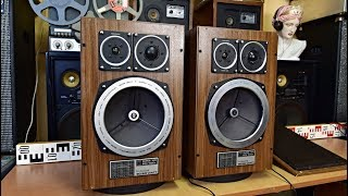 Grundig Super Hifi Box 1500a Professional - Top Vintage Lautsprecherboxen - Loudspeakers #speakers