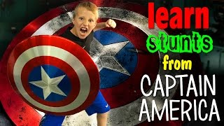 Real Life Captain America VS Iron Man