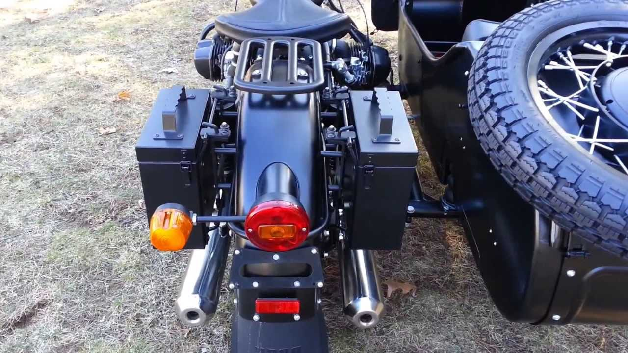 Quot Baraholka Quot Kit Dual Box Rear Cargo System From Ural Of