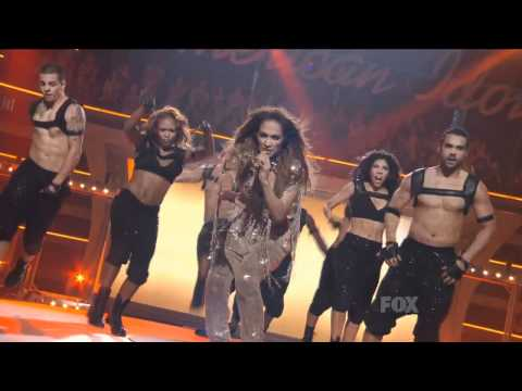 Jennifer Lopez Ft. Pitbull - Live On The Floor American Idol Hd video