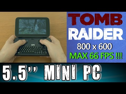 1# GPD Win Tomb Raider (PC) Portable Handheld Gaming Mini PC Intel X7 Z8700