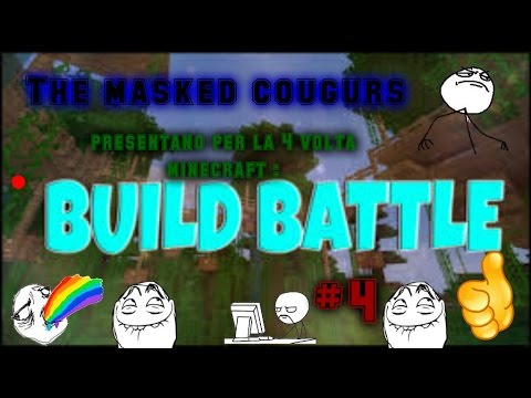 minecraft build it battle#4ita by the masked couguars