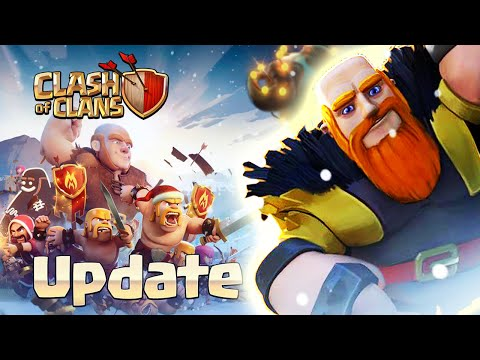 "Clash of Clans: ""WINTER UPDATE"" - X-Mas Tree, Santa Presents, Giant Level 7, Save Base Layout"