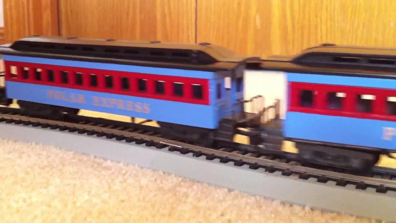 Custom Ho Polar Express Christmas Train Youtube