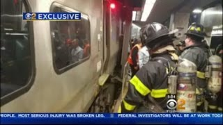 LIRR Train Crash Latest