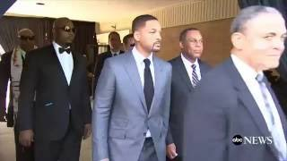 Muhammad Ali Funeral  Will Smith, Mike Tyson,  Others Carry Ali's Casket