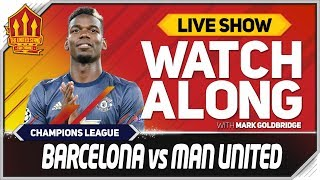 Barcelona vs Manchester United live watchalong