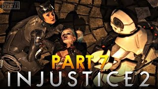 Injustice 2 Let's Play Part 7 - I'm Not Losing Another Friend! (Cyborg & Catwoman)