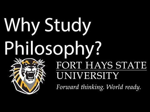 why study philosophy So, why study philosophy many of my peers are bewildered by what i've chosen to study, seeing it as something archaic and utterly useless in the real world.