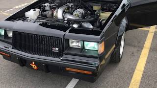Drive and walk around the Buick Grand National for the new subscribers