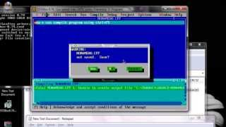 how to install turbo c in windows 8 [RUN TC IN DOSBOX FULL SCREEN MODE]