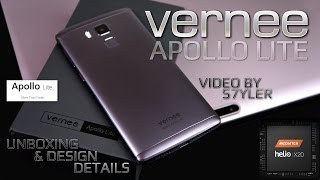 Vernee Apollo Lite (Unboxing & Design Details Only) Helio X20, 4GB RAM - PART1-2 // by s7yler