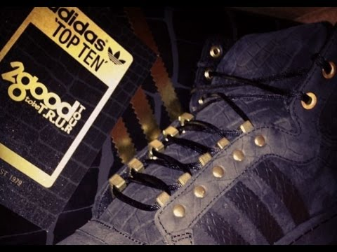 Dj Delz Reviews The 2Chainz x Adidas Originals Top Ten Hi 2Good2BeTRU Sneaker (Video)