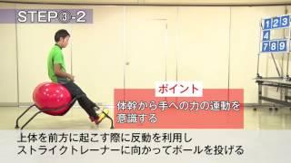 上級編 投げる・打つ競技にオススメトレーニング!
