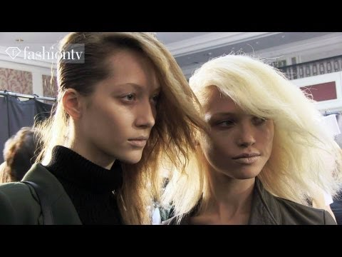 Hakaan Fall/Winter 2013-14 BACKSTAGE | Paris Fashion Week PFW | FashionTV