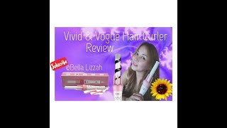 Let's try this! Vivid & Vogue hair curler review 💕