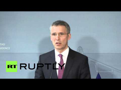 Finland: 'Russia in Ukraine' says NATO's Stoltenberg, as West's troops arrive in Kiev