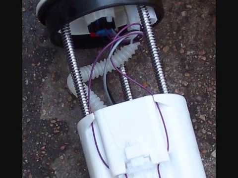 1999 cadillac seville sts  fuel pump change out