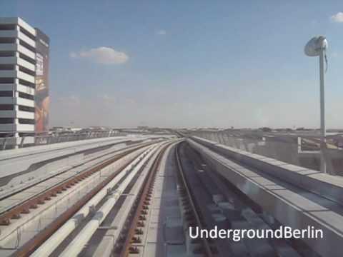 Dubai Metro - Airport Terminal 3 to Rashidiya