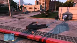 GTA 5 Cheats -- Moon gravity (XBOX 360 & PS3)