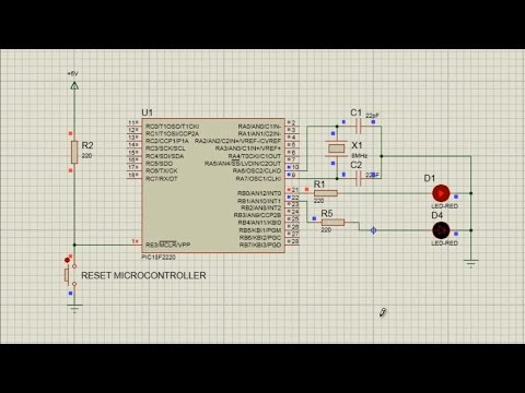 MPLAB XC8 for Beginners Tutorial -2- Flashing an LED