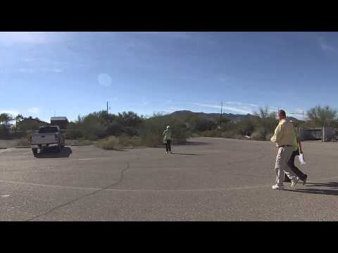 Entering Ajo, Arizona, purchasing Mexican Auto Insurance, 2 December 2013, Passenger View, GP020031
