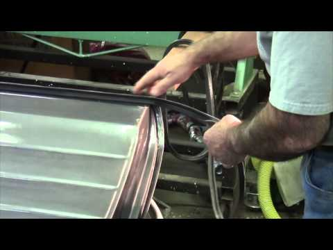 1947-55 1st series Chevy Pickup Door Weatherstrip Installation