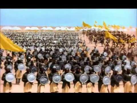 Mughal E Azam Battle Scene Medieval India
