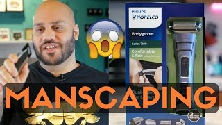 How To Manscape: Manscaping Do's and Don'ts | Norelco Bodygroom 7100 Review