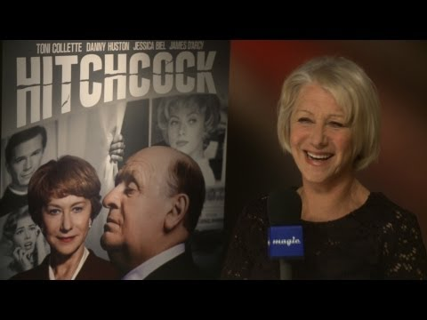 Helen Mirren talks Hitchcock, bin-bag dresses and heading to the West End!