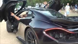 2x  McLaren P1!! Start-ups, Launch and Driving @ Goodwood Festival Of Speed 2013
