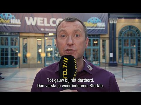 KIPPENVEL: Dartswereld steunt Toon Greebe - RTL 7 DARTS: WK 2018