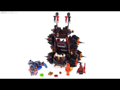 LEGO NEXO Knights General Magmar's Siege Machine of Doom review!  70321
