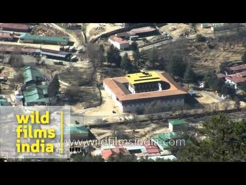 Aerial shots of Haa valley : Bhutan