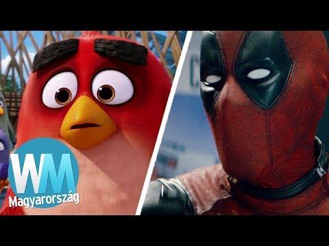 Top 10 jel, hogy a filmek egyre rosszabbak