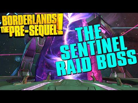 Borderlands The Pre-Sequel The Sentinel Raid Boss Fight!