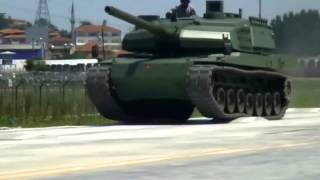 Otokar Altay Main Battle Tank Field Test