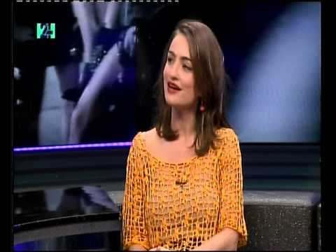 אניה בוקשטיין - ראיון בתוכנית ''פלייליסט'' - ערוץ 24.