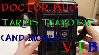 Doctor Who Tardis Teapot?! (and more) - Vintage Toy Box