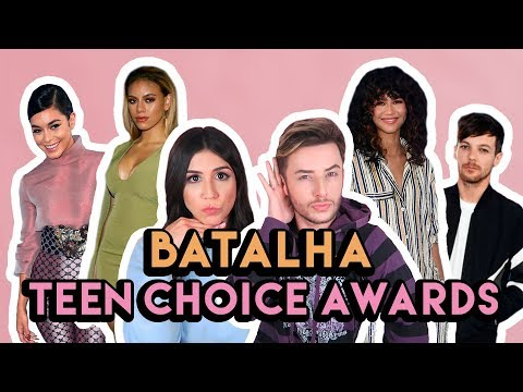 BATALHA: LOOKS DAS FAMOSAS NO TEEN CHOICE AWARDS 2017 ft. MAICON SANTINI | Foquinha