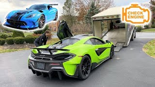 MY NEW $350,000 MCLAREN IS BROKEN AFTER 1,400 MILES... *SELLING It for a Viper ACR?!?*