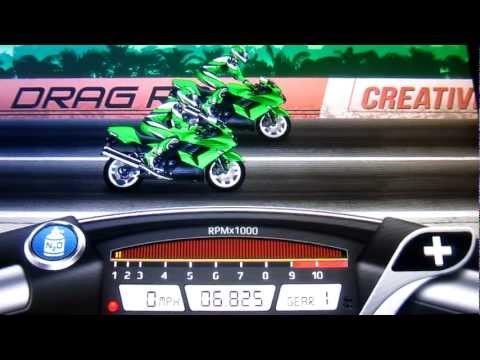 Drag Racing Bike Edition: How To Tune A Level 9 Ninja 1400 6.825s 1/4 Mile!