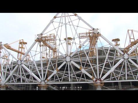 Вантовую кровлю на стадионе Волгоград Арена соберут специалисты из Швейцарии и Италии