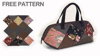 #0138 Quilting Bag Making,Quilting Bag Free Patterns,Quilt bag tutorial, Pattern Making Bag,
