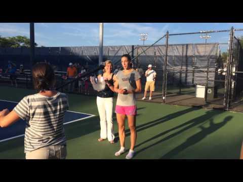 Andrea Petkovic - ALS Ice Bucket Challenge