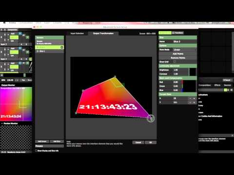 Projection Mapping Tutorial - Resolume Arena 4