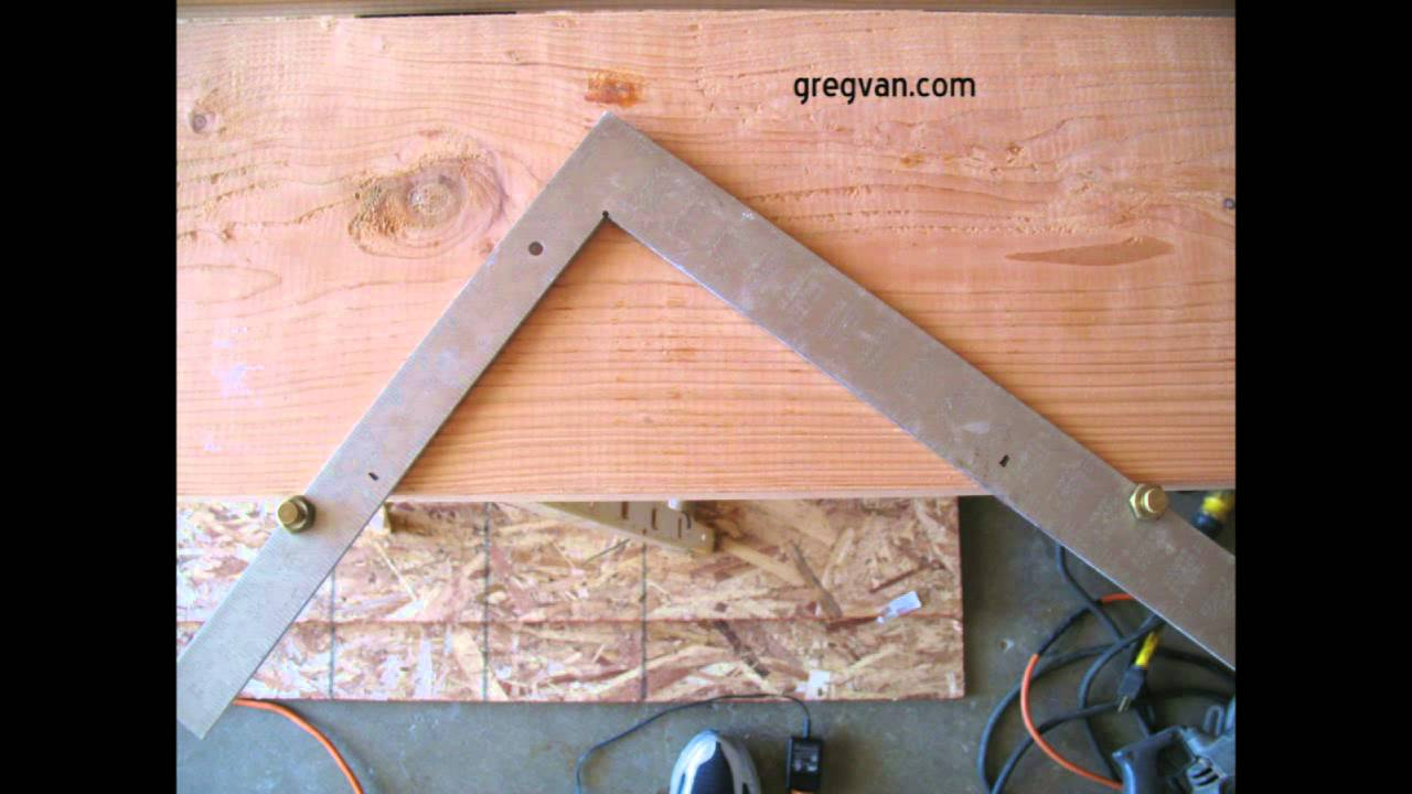 Stair Gauges Make Your Job Easier How To Layout Stair